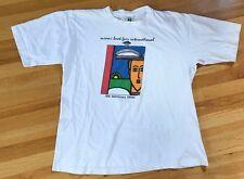 Vintage Cross Colours Tee T Shirt 90s Hop Hop Rap Miami Florida Kriss Kross