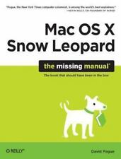 Mac OS X Snow Leopard: The Missing Manua