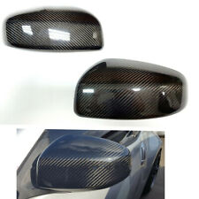 FOR 2009-19 NISSAN 370Z Z34 CARBON FIBER SIDE VIEW MIRROR COVERS CAP OVERLAY DN