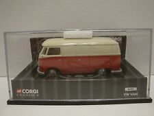 Corgi Volkswagen Delivery VW Van 1:43 Scale Diecast Model Red & White C17-39