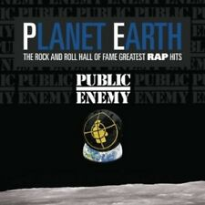 PUBLIC ENEMY - PLANET EARTH:THE ROCK AND ROLL HALL OF FAME... CD HIPHOP RAP NEU