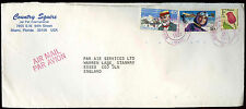 USA 1991 Commercial Air Mail Cover To England #C30770