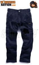 Pantaloni da uomo blu in poliestere
