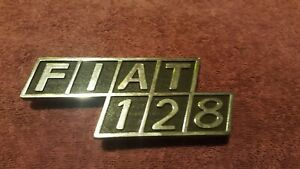 Fiat 128  badgework / script (New) reproduction