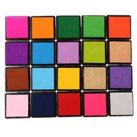 Vivid Fine Rubber Stamps Ink Pad Set Craft for DIY Card Making Scrapbooking