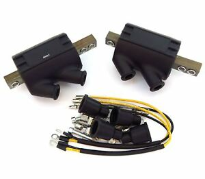 2 Magna High Output Performance Coils 3 ohms Kawasaki KZ400/440/550/650/750/900