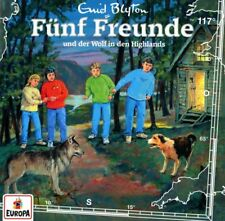 CD * FÜNF FREUNDE - HÖRSPIEL / CD 117 - DER WOLF IN DEN HIGHLANDS # NEU OVP =