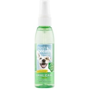 TropiClean Fresh Breath Oral Care Spray for Dogs 1ea/4 fl oz   Free Shipping