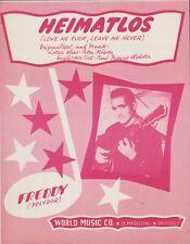 BLADMUZIEK  //  FREDDY  --  HEIMATLOS
