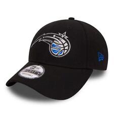 NEW ERA ORLANDO MAGIC BASEBALL CAP.9FORTY NBA THE LEAGUE BLACK ADJUSTABLE HAT