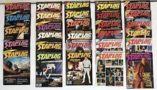 Vintage 1970s Starlog Magazines 29 Issues Star Trek Star Wars