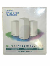 Linksys Velop Ac4600 Whole Home WiFi System Tri-band Series Vlp0203bf New Sealed