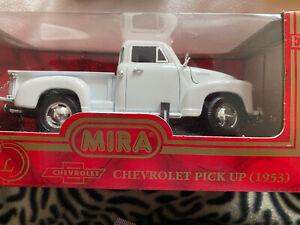 Chevrolet 1953 White  Pick Up Model Truck