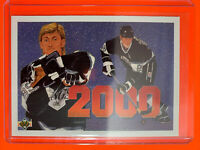1990-91 Upper Deck #545 Wayne Gretzky's 2000th Point LA Kings