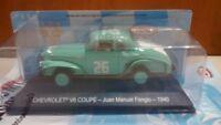 39 Chevrolet coupe 1940 Juan Manuel Fangio Winner argentina 1/43 salvat altaya