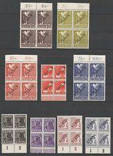 BERLIN - 1948 Black Overprinted Set - 20v  Mi #1-20 - MNH Bloc 04 , Margins **