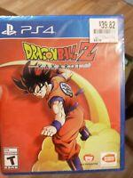 Dragon Ball Z: Kakarot -- Standard Edition (Sony PlayStation 4, 2020) ps4