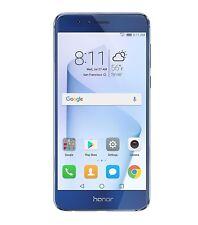 Teléfono celular Huawei Honor 8 desbloqueado 64GB cámara doble. Sapphire Blue
