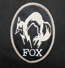 Metal Gear Solid Foxhound Logo Ps4 Xbox Special Blck Ops Velcro® Brand Patch