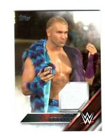 WWE Tyler Breeze 2016 Topps Event Used Shirt Relic Card SN 215 of 299