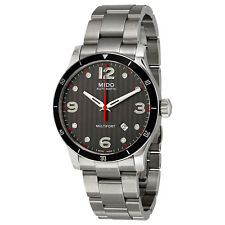 Mido Multifort Automatic Black Dial Mens Watch M025.407.11.061.00