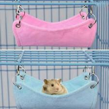 Small Pet Bird Hamster Rat Hammock Hanging Cage Nest Sleeping Bed House SwingToy