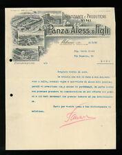 LETTERE COMMERCIALI PANZ ALESS. & E FIGLI NEGOZIANTI EPRODUTTORI VINI 1928