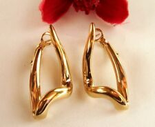 Moderne Pierre Lang Ohrstecker Ohrgehänge Ohrhänger vergoldet Ohrringe / cp 072