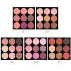 9 Colors Waterproof Cosmetic Makeup Shimmer Blush Eyeshadow Palette FOCALLURE