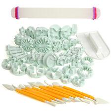 Taza de 50 piezas Sugarcraft Pastel Decoración Herramienta Fondant Glaseado Moldes Cortadores Moldes