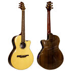 Guvnor Electro Acoustic Folk Style Guitar GA775CE Cutaway Solid Spruce Top Z00 for sale
