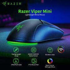 Original Razer Viper Mini 61g Lightweight Wired Mouse 8500DPI Optical Sensor RGB