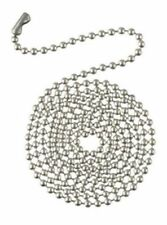 Westinghouse 7723800 - 3' Brushed Pewter Beaded Chain with Connector