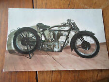 1929 NORTON C.S.I. 490 CC - Murrays Motor Cycle Museum ~ Colour RP Postcard