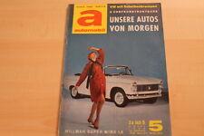 72849) Hillman Super Minx 1.6 - automobil illustrierte 05/1963