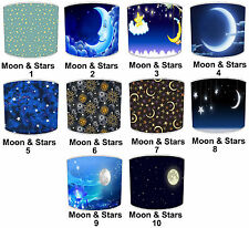 Lampshades Ideal To Match Moon & Stars Wallpaper Duvets & Wall Art