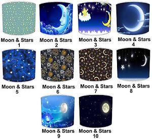 Moon & Stars Lampshades, Passt Ideal Zu Mond Poster & Wandbehänge