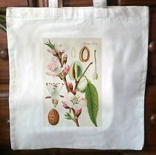 Victorian Repro cotton Shopping shoulder tote Shopper bags Botanical Print No.4
