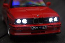 BMW M3 3-ER E30 MIT XENON(BELEUCHTUNG)SOLIDO ROT IN 1:18 INKL.WUNSCHKENNZEICHEN