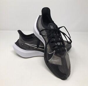 Nike Zoom Gravity Running Shoes Sneakers Womens Size 8.5 Black Gray BQ3203-002