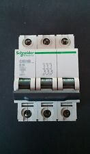 Schneider B16 C60HB 25870 16Amp Type B  3 Phase MCB 10kA  NEW other