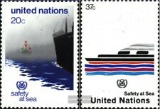Nations unies - Nouveau York 417-418 neuf 1983 Navires
