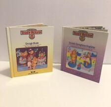 2 Teddy Ruxpin Books Grunge Music & Grundo Springtime Singtime Books Only