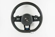 Volkswagen Polo R Line Steering Wheel | Flat Bottom with Paddle Shifters (VW) #3
