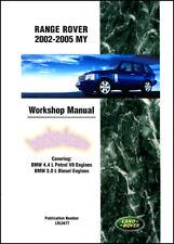 Land Rover Range Rover Shop Manual Service Repair Book Workshop Guide Rangerover