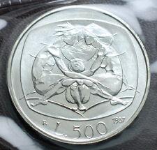 1987  Repubblica Italiana  Celebrativa della Famiglia   500 lire   FDC