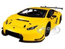 LAMBORGHINI HURACAN GT3 YELLOW WITH PEARL EFFECT 1/18 MODEL CAR AUTOART 81528