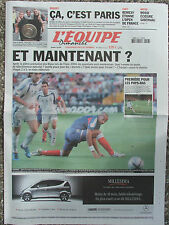 L'Equipe du 27/6/2004 - Euro : Après l'échec des Bleus - Pays Bas-Stade Français