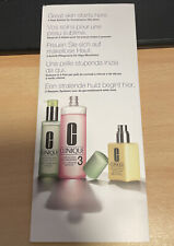 NEW - Clinique 3 Steps To A Shining Skin Sample Set 3x 1,5ml For Oily Skin