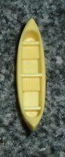 Vintage Polly Pocket Dream World Yellow Canoe Boat Bluebird 1991